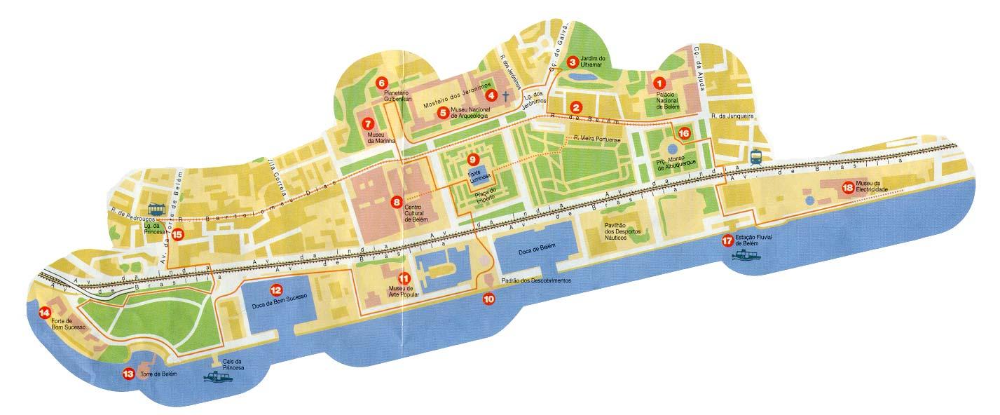belem lisboa mapa about lisbon belem lisboa mapa